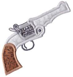 Wild West Revolver Applique embroidery design