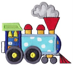 Train Engine Applique embroidery design