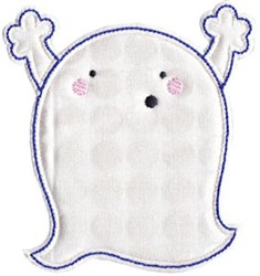 Celebrating Ghost Applique embroidery design
