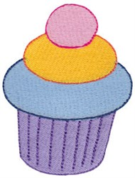Decorated Cupcakes embroidery design