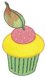 Tiny Cupcake embroidery design