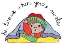 When Youre Awake embroidery design