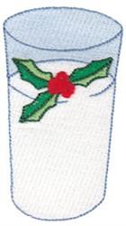 Christmas Milk embroidery design