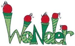 Christmas Wonder embroidery design