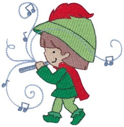On The Eleventh Day Of Christmas embroidery design