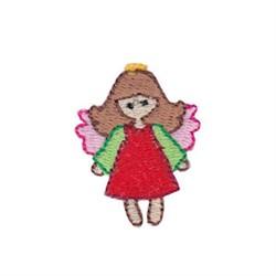 Christmas Mini Angel embroidery design