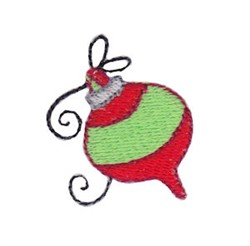 Christmas Mini Bauble embroidery design