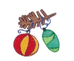 Christmas Mini Tree Ornaments embroidery design