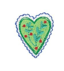 Christmas Mini Heart embroidery design