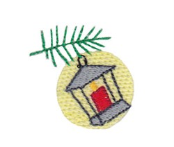 Christmas Mini Lantern embroidery design