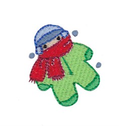 Christmas Mini Child embroidery design