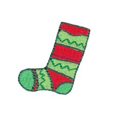 Christmas Mini Stocking embroidery design