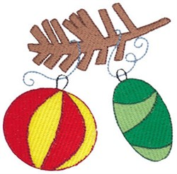 Christmas Melody Ornaments embroidery design