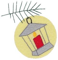 Christmas Melody Lantern embroidery design