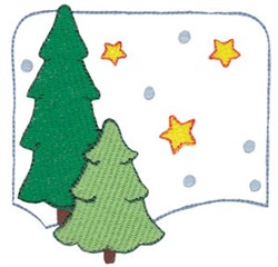 Christmas Melody Snowman embroidery design