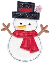 Christmas Melody Applique embroidery design