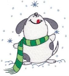Winter Critter Dof embroidery design