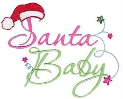 Santa Baby embroidery design