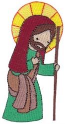 Cute Nativity Joseph embroidery design