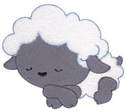Cute Nativity Lamb embroidery design