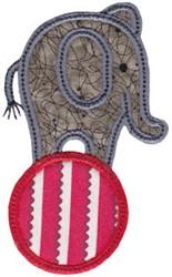 Little Elephant Applique embroidery design