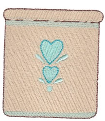 Country Canister embroidery design