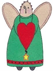 Prim Sampler Angel embroidery design