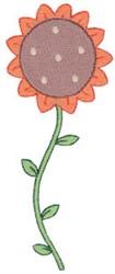 Prim Sampler Flower embroidery design