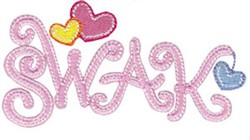 Techy Sentiments SWAK embroidery design