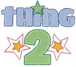 Twin Time Thing 2 embroidery design