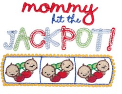 Jackpot TwinTime embroidery design