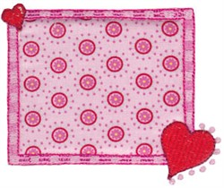 All About Love embroidery design
