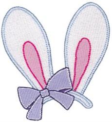 Easter Fun Bunny Ears embroidery design