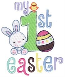 1st Easte rFun embroidery design