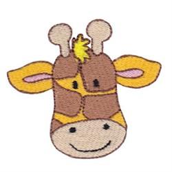Little Giraffe Face embroidery design