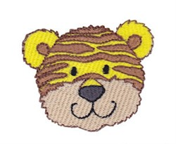 Little Tiger Face embroidery design