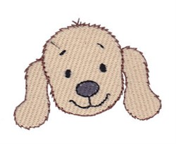Little Dog Face embroidery design