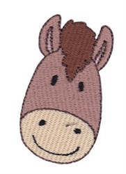 Little Horse Face embroidery design