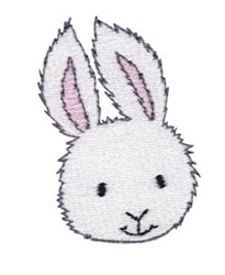Little Bunny Face embroidery design