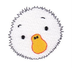 Little Goose Face embroidery design