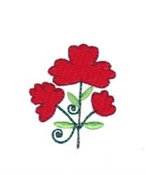 Mini Spring Splendor Flowers embroidery design