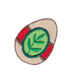 Mini Spring Easter Egg embroidery design