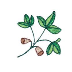 Mini Spring Splendor Plant embroidery design