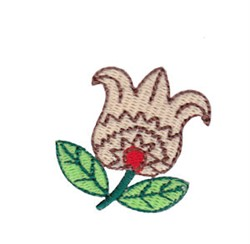 Mini Spring Splendor Tulip embroidery design