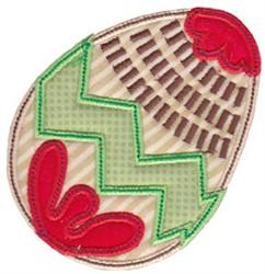 Spring Splendor Applique Egg embroidery design