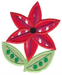 Spring Splendor Applique Flower embroidery design
