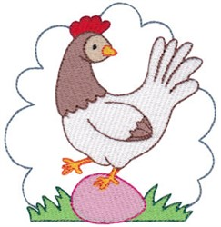 Easter Delights Chicken embroidery design