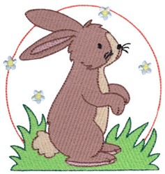 Easter Delights Rabbit embroidery design