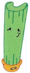 Baby Bites Celery embroidery design