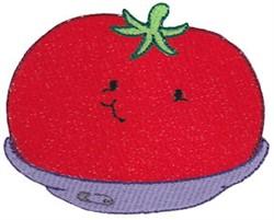 Baby Bites Tomato embroidery design